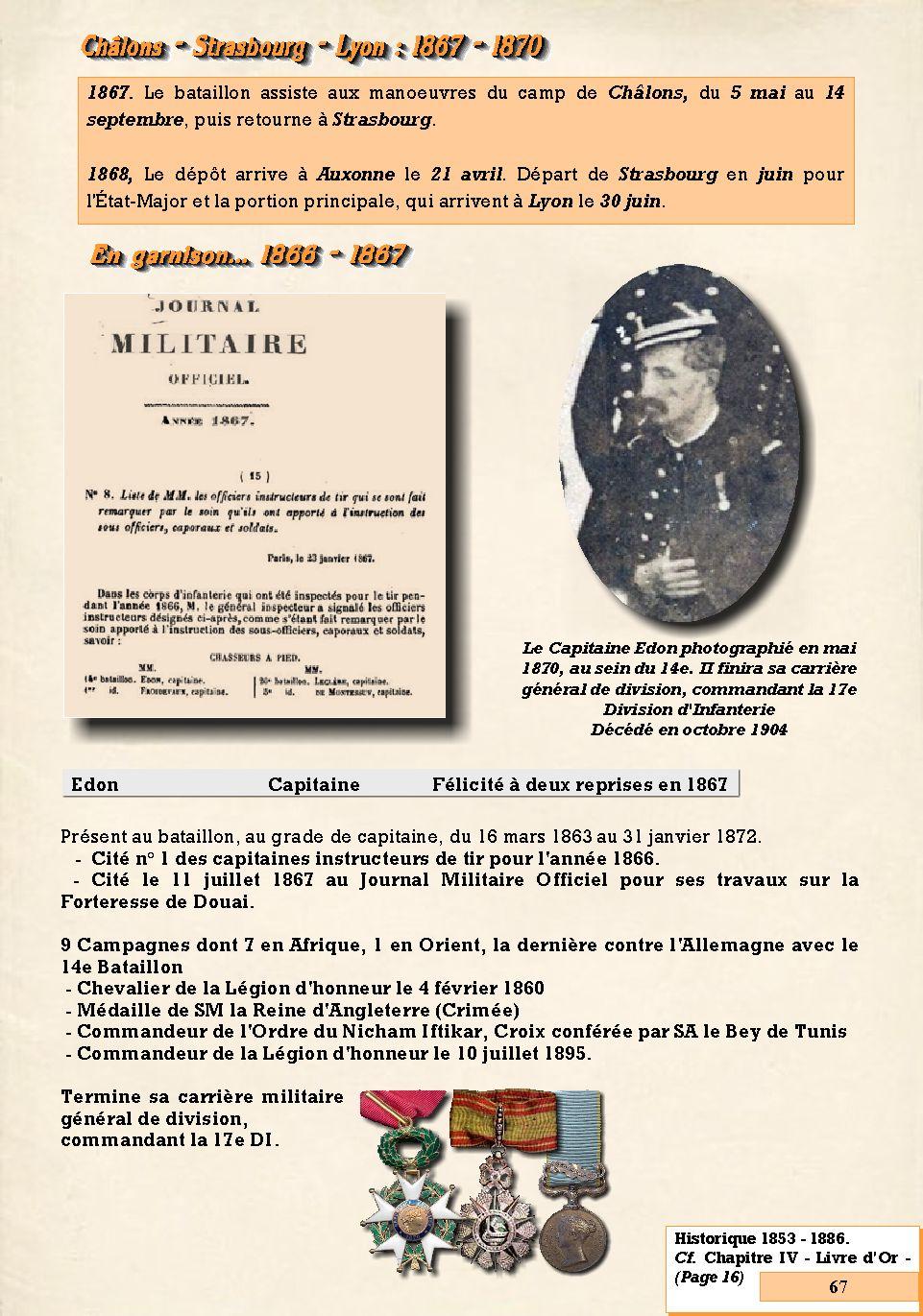 L'Historique du 14e Bataillon de Chasseurs. 1854 - 1962 Page_618