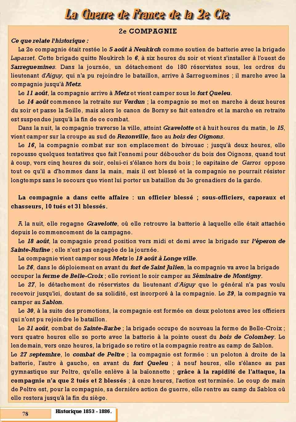 L'Historique du 14e Bataillon de Chasseurs. 1854 - 1962 Page_717