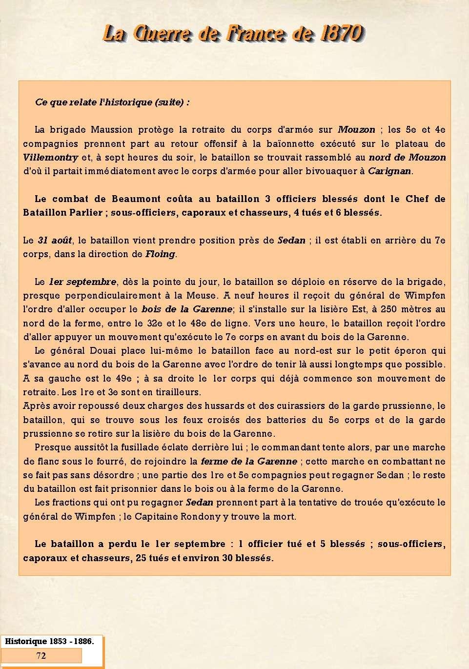 L'Historique du 14e Bataillon de Chasseurs. 1854 - 1962 Page_719