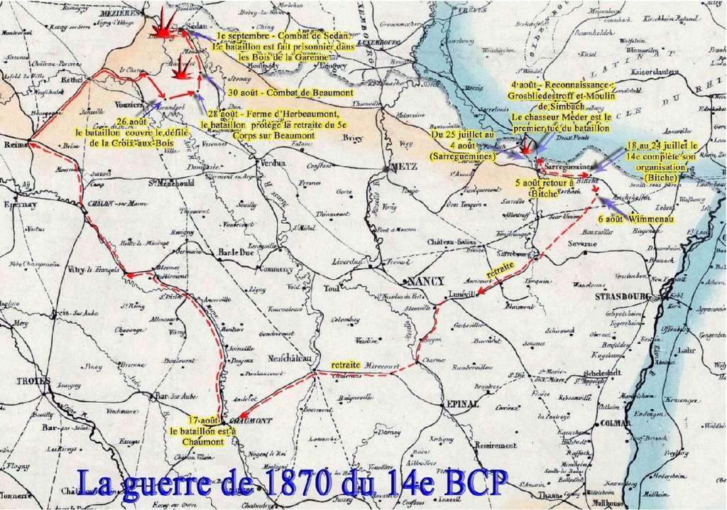 L'Historique du 14e Bataillon de Chasseurs. 1854 - 1962 Page_720