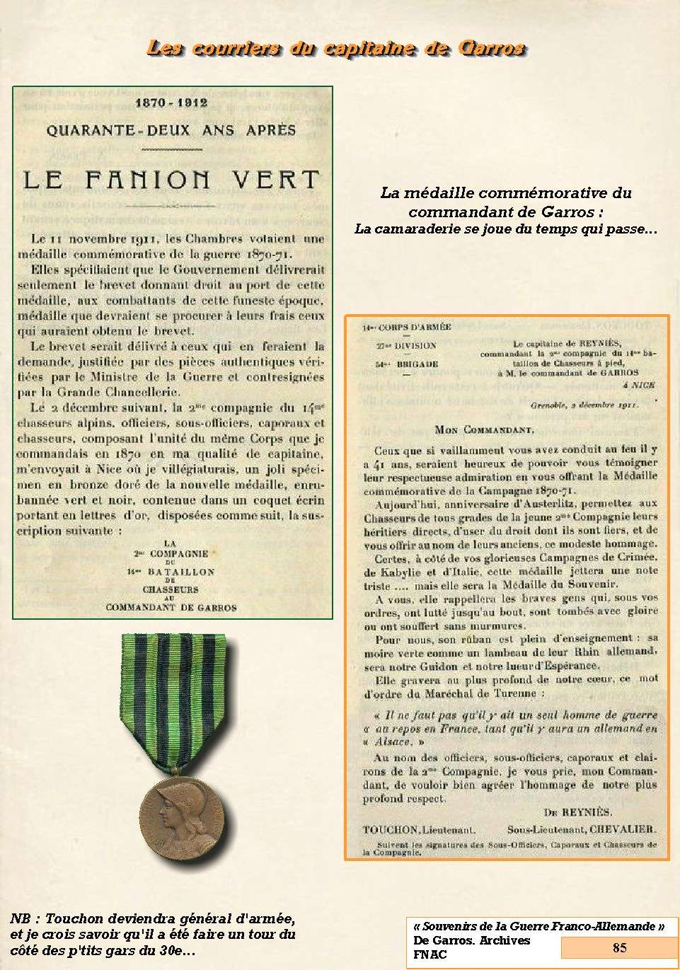 L'Historique du 14e Bataillon de Chasseurs. 1854 - 1962 Page_813