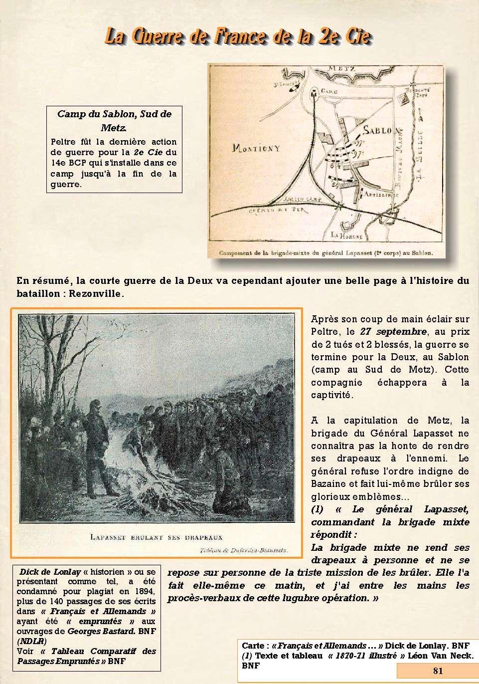 L'Historique du 14e Bataillon de Chasseurs. 1854 - 1962 Page_814