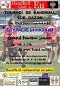 le 20 mai Tournoi sur herbe du Handball Club de Eu Affich10