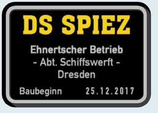 """ex-MS , DS """"Spiez"""" - M1:150 ? - Thunersee 112"""