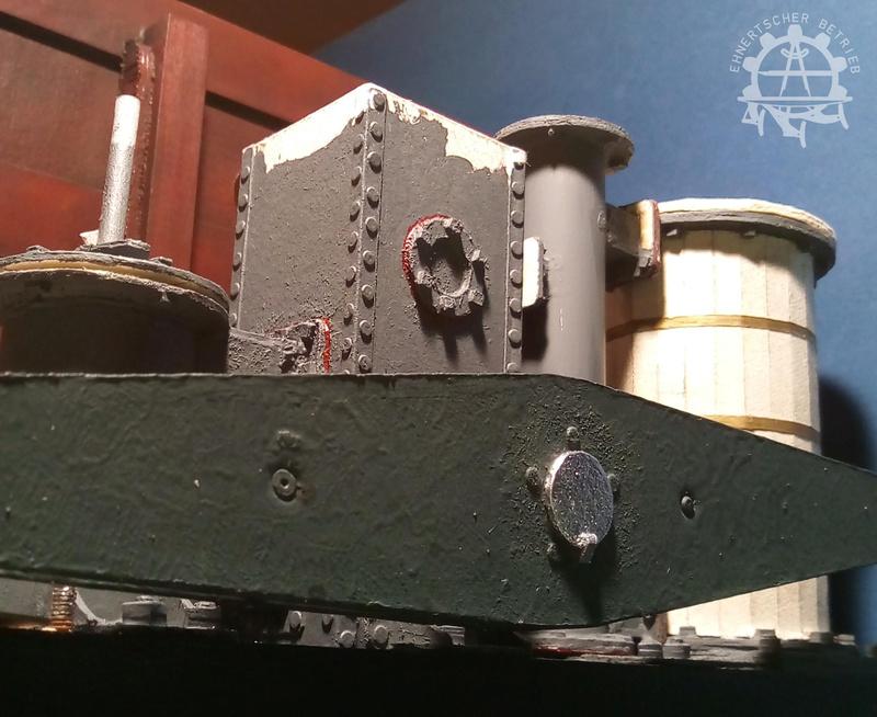 """Dampfmaschine des Dampfbootes """"Königin Maria"""" von 1837 - M1:15 - Seite 5 2017-138"""
