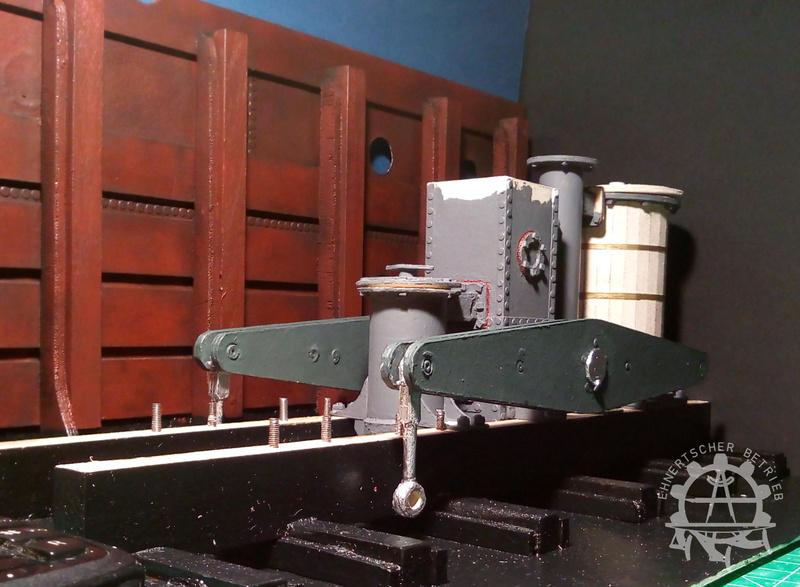 """Dampfmaschine des Dampfbootes """"Königin Maria"""" von 1837 - M1:15 - Seite 5 2017-141"""