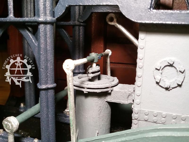 """Dampfmaschine des Dampfbootes """"Königin Maria"""" von 1837 - M1:15 - Seite 5 2017-163"""
