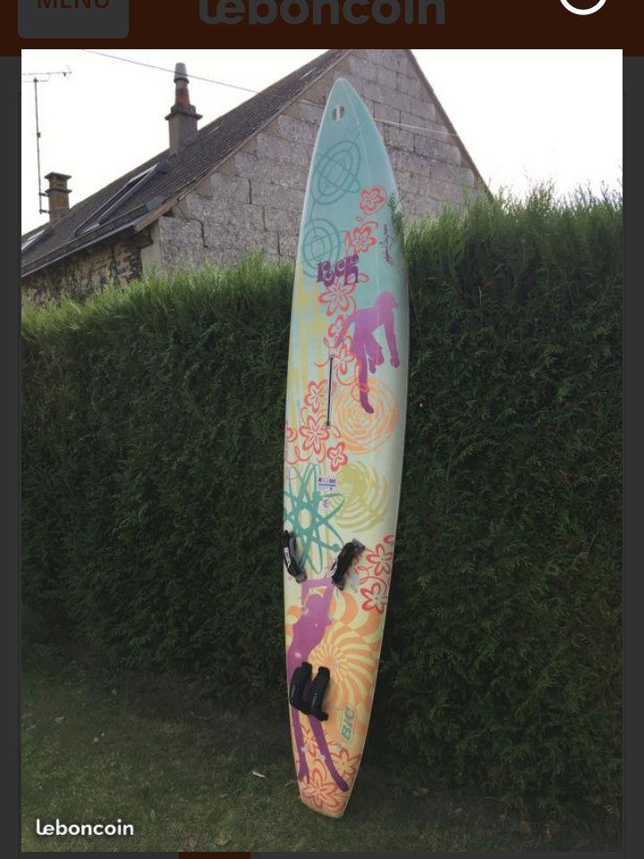 Convertir une planche à voile en paddle ?? 20180113