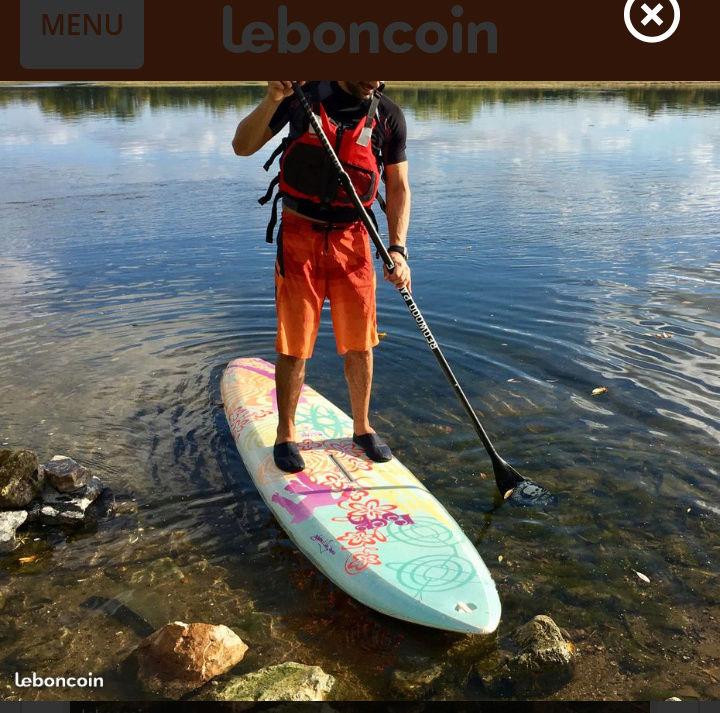 Convertir une planche à voile en paddle ?? 20180115
