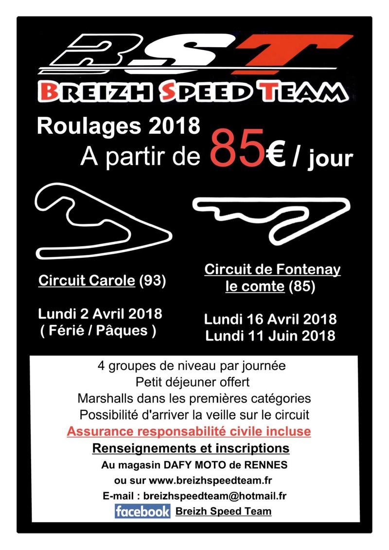 Breizh Speed Team Calendrier 2018 Roulag10