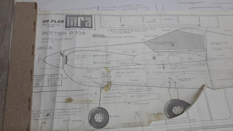 Potier P70S Plan MRA N°488... 20180511