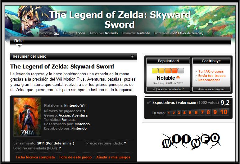 The Legend of Zelda: Skyward Sword [Review] Zelda10