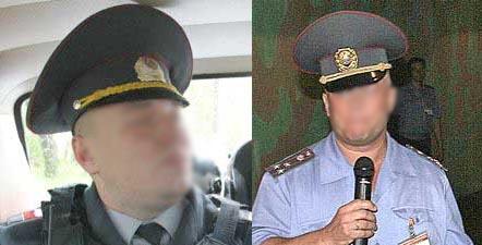 Belarussian headgears Mvd10