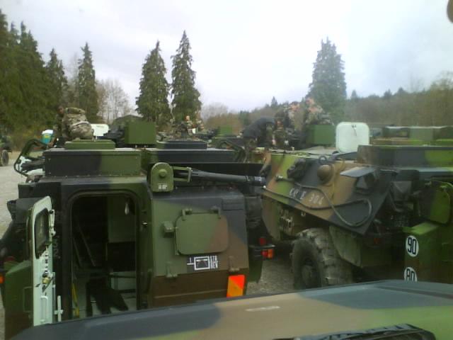 exercice  slovenie 2 eme Regiment de dragons Dsc01110