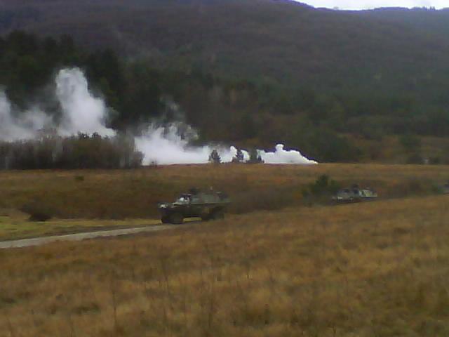 exercice  slovenie 2 eme Regiment de dragons Dsc01114