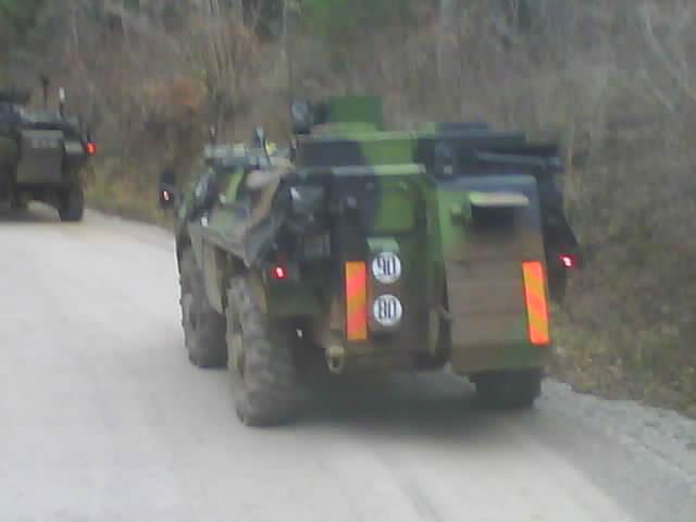 exercice  slovenie 2 eme Regiment de dragons Dsc01211