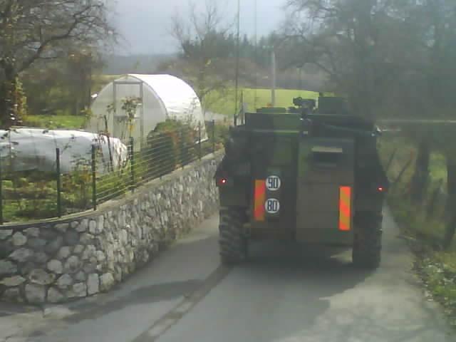exercice  slovenie 2 eme Regiment de dragons Dsc01212