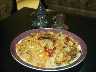 Bukhari rice (Saudi) Sany1810