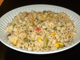 Vegetable pasta (American) Sany1910