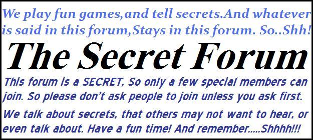 Secret Forum