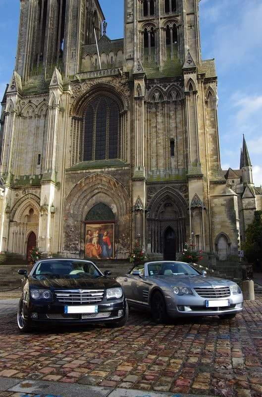 Bonjours je suis nouveau voici ma Chrysler crossfire cabriolet 3l2 v6 Fb_img10