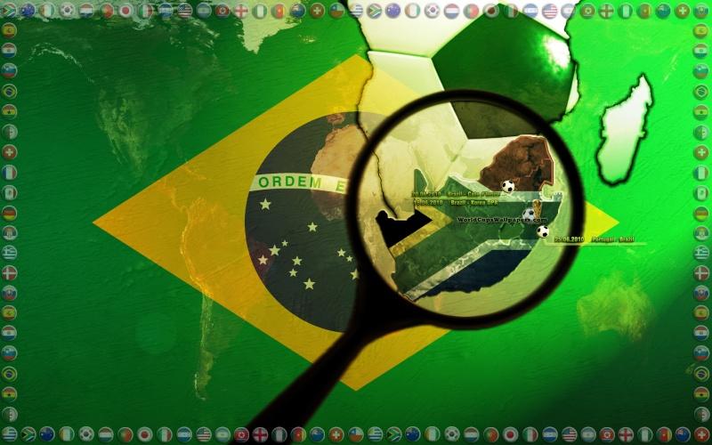 حصريا خلفيات كأس العالم بجنوب افريقيا 2010 روعة Bresil11