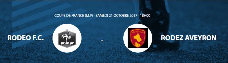 COUPE DE FRANCE 6ème Tour [RODEO (N3) - Rodez (N1)] 21  OCTOBRE 2017 à 18H00 Tfg10