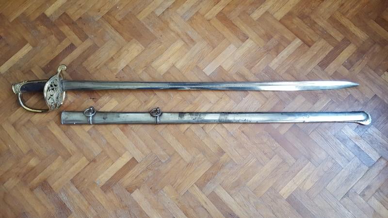 interrogation sur un sabre d'infanterie 1845 20180121
