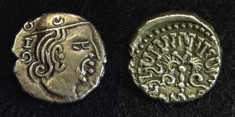 3 drachmes pour Kamaragupta 1er ... 016510