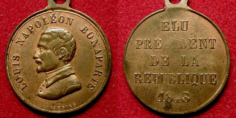 Luis Napoléon Bonaparte, élu président de la République, 1848 0992_e10