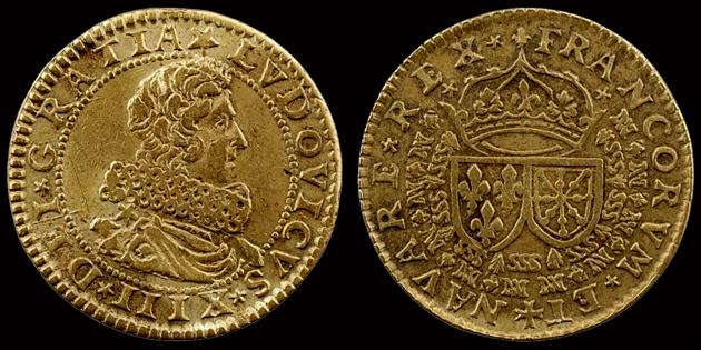 Lvdovicvs XIIII Dei Gracia 33825010