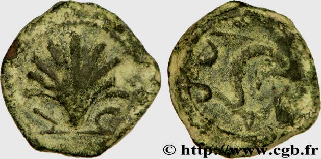 Quadrans ibérique Arse/Saguntum, province de Valence (env. IIe siècle av. J.-C.) ... Bga_2810