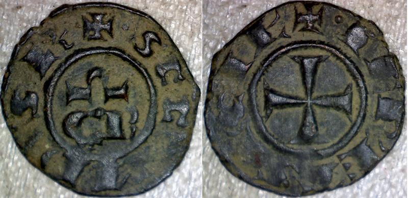 Denier de Conrad II, roi de Sicile ... Conrad10
