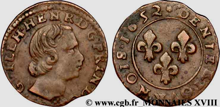 Denier Tournois Guillaume-Henri de Nassau Dt_gui10