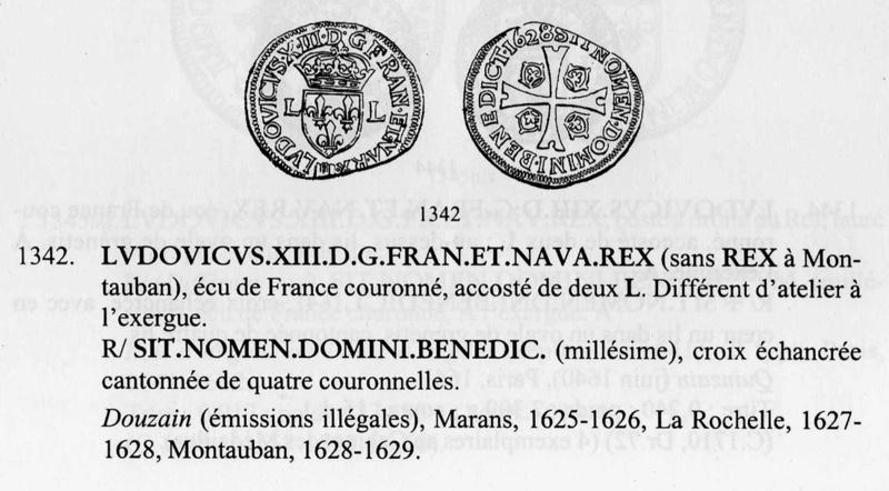 Croix avec des couronnes et Blason - Duples10