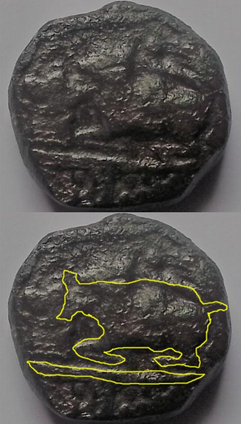 monnaie en bronze Essai_10