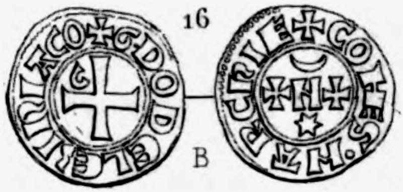 Denier du Comté de la Marche pour Guy Ier de Lusignan (1303-1308) ... Pa_26310