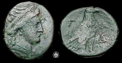 Bronze d'Elis (Olympie) Sngcop10