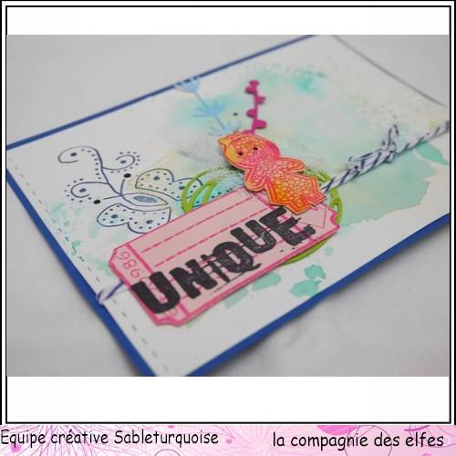 Sketch scrap / carte par Sandrine 211