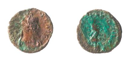 Antoniniano de Tétrico I COMES AVG. Nu310