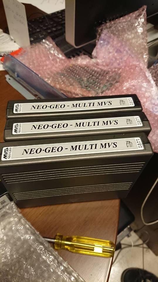 Darksoft NEOGEO AES MVS Multigame cartridge 27540710