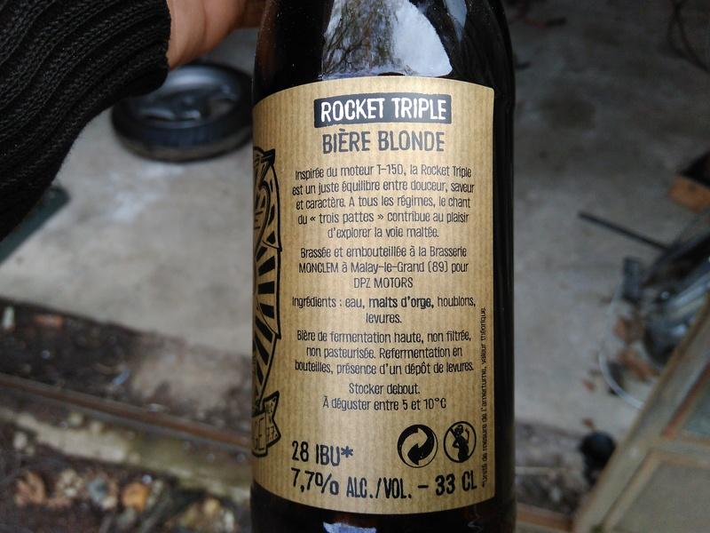 """Bière Rocket triple """"cuvée garage"""" Img_2019"""