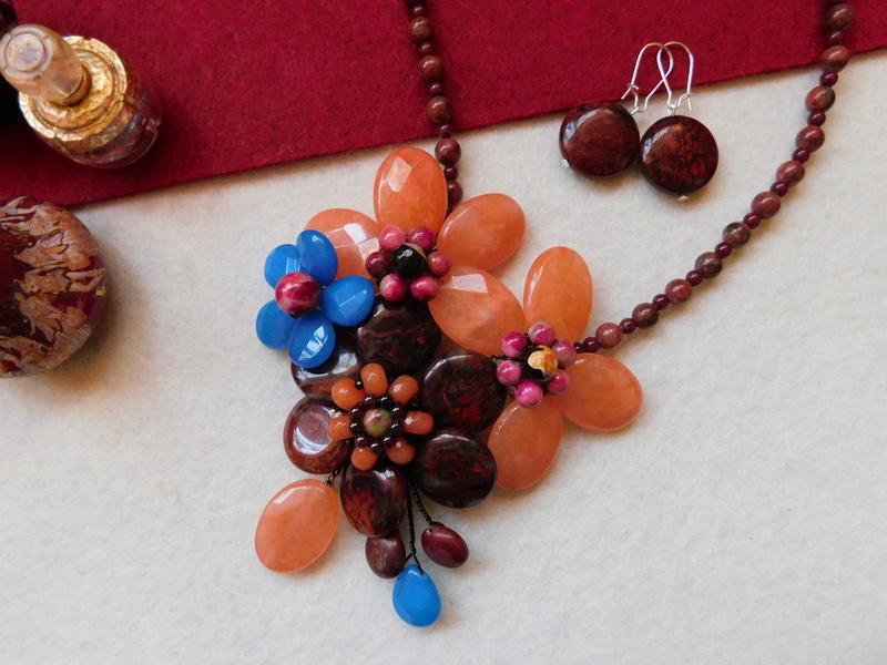 """""""Flori de piatră-Bijoux"""" albumul II-bijuterii artizanale marca Didina Sava - Pagina 6 00116"""