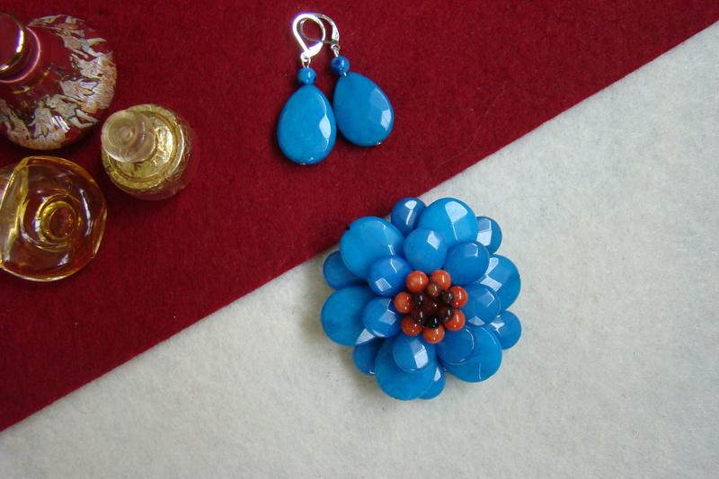 """""""Flori de piatră-Bijoux"""" albumul II-bijuterii artizanale marca Didina Sava - Pagina 11 00212"""
