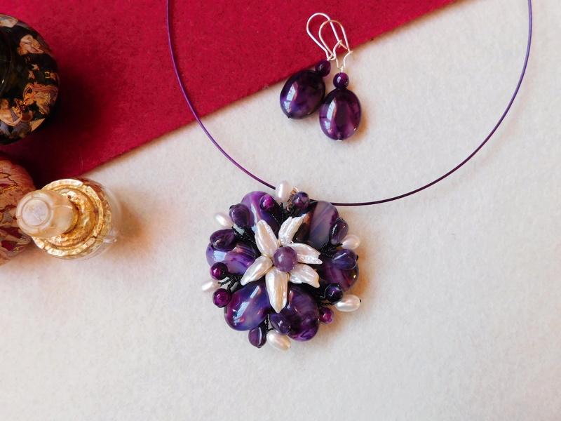 """""""Flori de piatră-Bijoux"""" albumul II-bijuterii artizanale marca Didina Sava - Pagina 5 00224"""