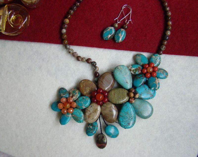 """""""Flori de piatră-Bijoux"""" albumul II-bijuterii artizanale marca Didina Sava - Pagina 11 00414"""