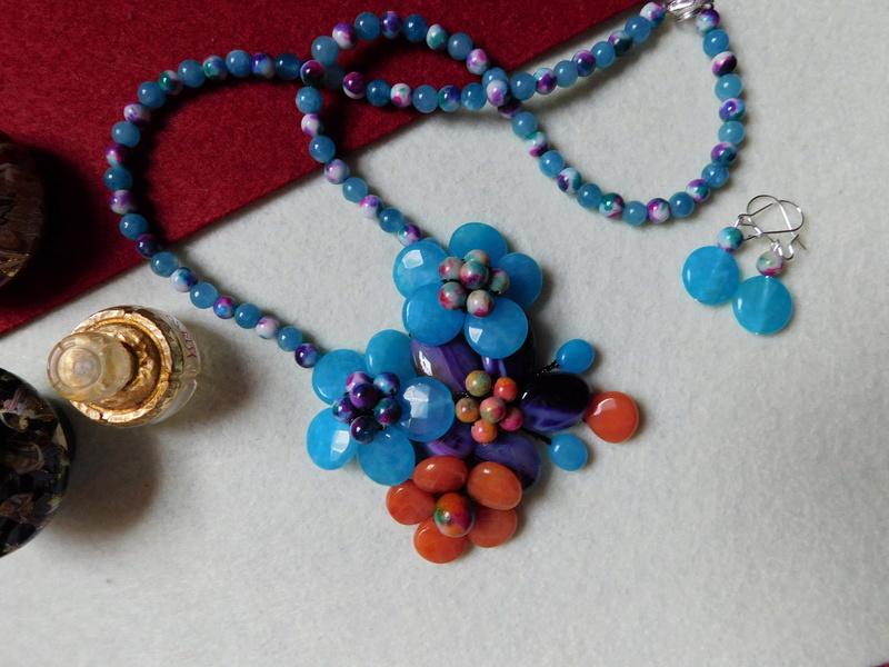 """""""Flori de piatră-Bijoux"""" albumul II-bijuterii artizanale marca Didina Sava - Pagina 8 00420"""