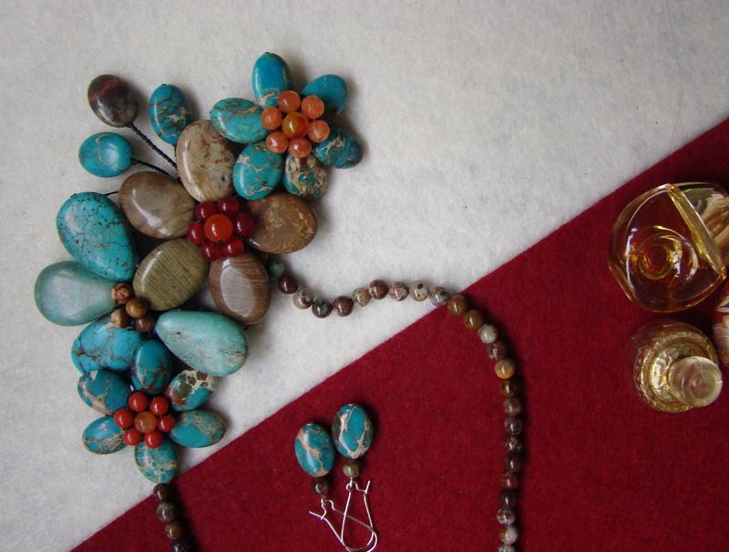 """""""Flori de piatră-Bijoux"""" albumul II-bijuterii artizanale marca Didina Sava - Pagina 8 00512"""