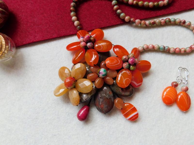 """""""Flori de piatră-Bijoux"""" albumul II-bijuterii artizanale marca Didina Sava - Pagina 8 00516"""
