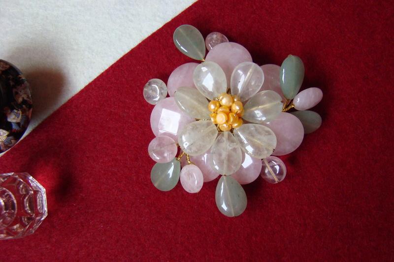 """""""Flori de piatră-Bijoux"""" albumul II-bijuterii artizanale marca Didina Sava - Pagina 10 00612"""